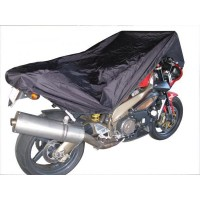 Compact lightweight bike cover