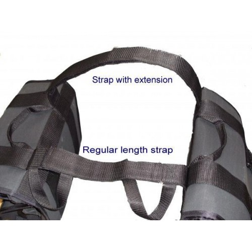 Extensions for Panniers or Strapz