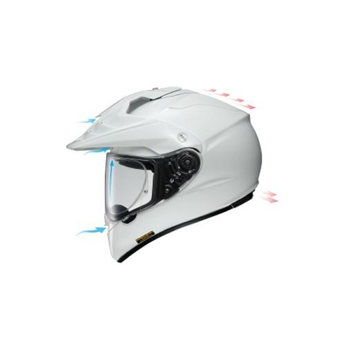Shoei ADV Hornet - WHITE
