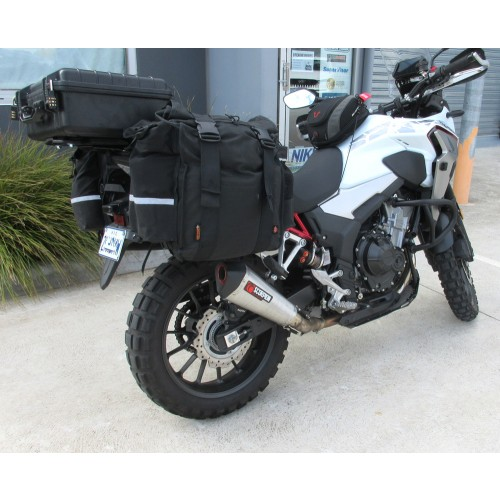 CB500X Pannier set up