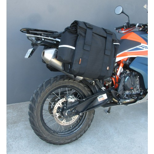 KTM 790 and 890 Saddle Bags and Support Frames
