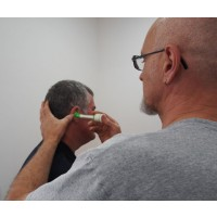 Earmold insertion technique