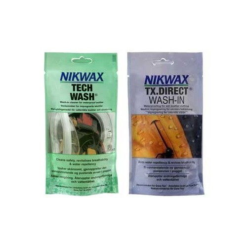 NikWax One Wash Pack
